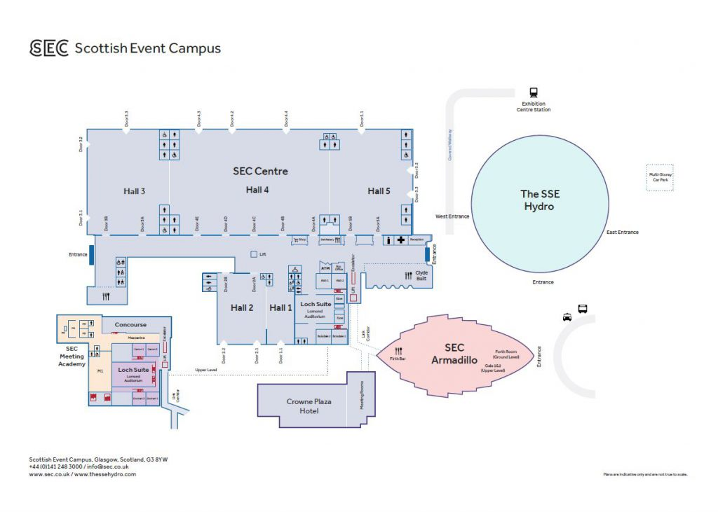 SEC floorplan