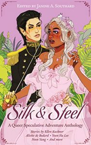 'Silk and Steel' book cover