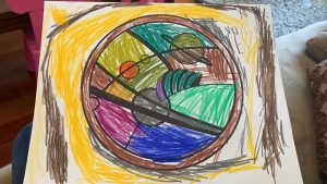Colouring Competition Winner – Under 10